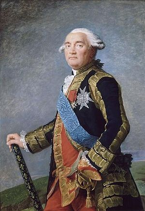 Philippe Henri, marquis de Ségur - Le maréchal de Ségur. Portrait by Élisabeth Vigée-Lebrun, 1789. Château de Versailles.