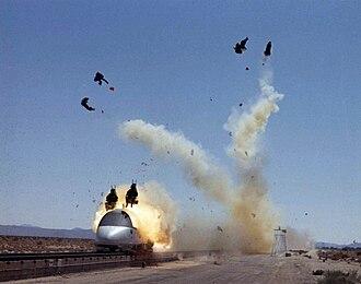 Lockheed S-3 Viking - S-3 escape system testing