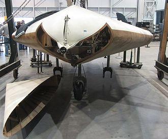 Akaflieg Darmstadt/Akaflieg München DM1 - Lippisch DM-1 in restoration at the Smithsonian