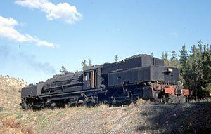 South African Class GL 4-8-2+2-8-4 - Image: SAR Class GL 2351 (4 8 2+2 8 4)