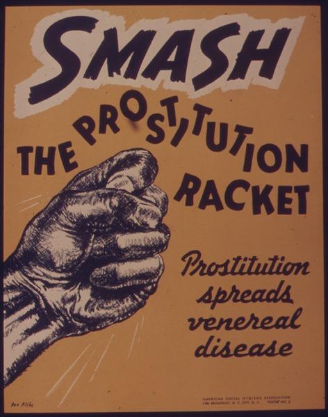 SMASH THE PROSTITUTION RACKET - NARA - 515431