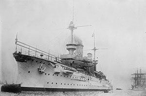 SMS Fürst Bismarck - Fürst Bismarck in harbor