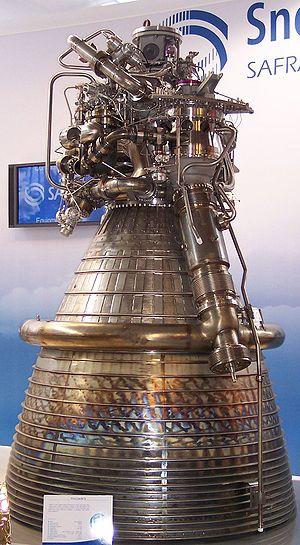 Ariane 5 - Image: SNECMA Vulcain II