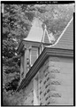 SOUTH END, DETAIL OF DORMER - Vogl House, State Road 277, Harrington, Kent County, DE HABS DEL,1-HAR.V,2-14.tif