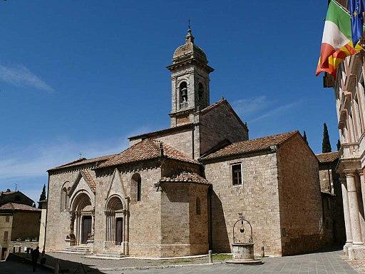San Quirico d'Orcia, Collegiata