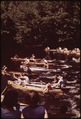 START OF CANOE RACES ON THE NORTH BRANCH OF THE MOOSE RIVER AT OLD FORGE, NEW YORK, IN THE ADIRONDACK FOREST PRESERVE - NARA - 554469.tif