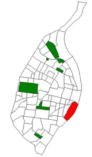 Kosciusko, St. Louis - Image: STL Neighborhood Map 20