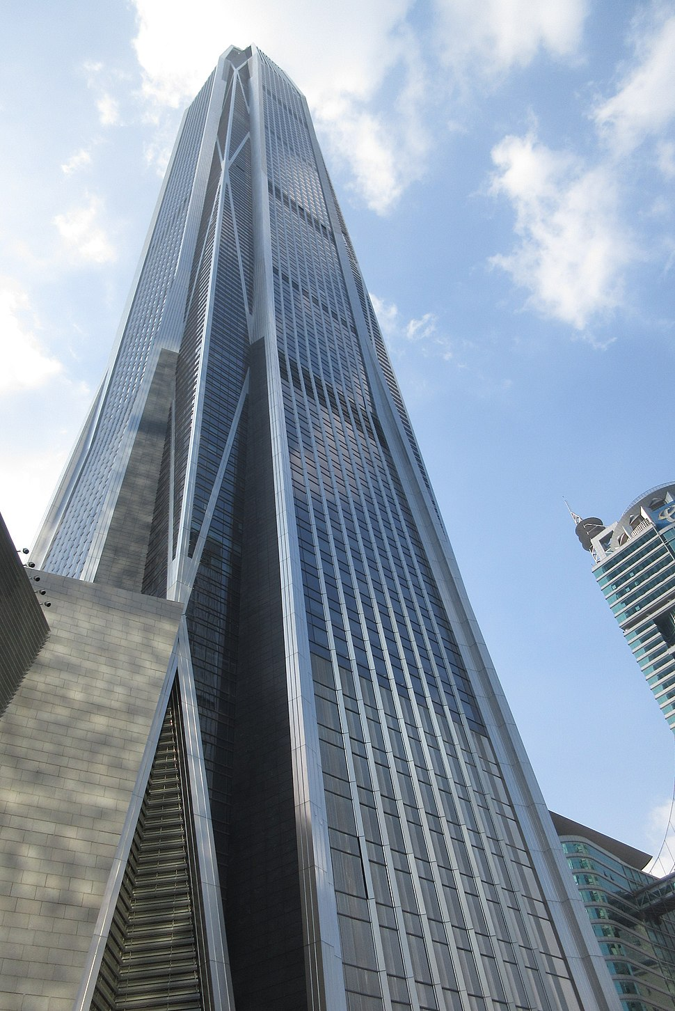 SZ 深圳 Shenzhen 福田 Futian 益田路 Yitian Road 平安國際金融中心 PingAn IFC facade October 2017 IX1 PAPC
