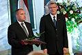 Saeimas priekšsēdētājas biedrs Gundars Daudze saņem Triju zvaigžņu ordeni (5686872175).jpg