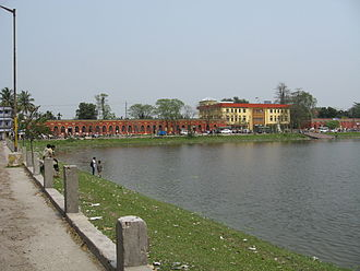 Cooch Behar - Most of the government offices are in the Sagardighi area