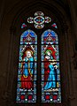 Saint-Pierre-des-Landes (53) Église Notre-Dame-de-l'Assomption de Mégaudais Baie 03.JPG