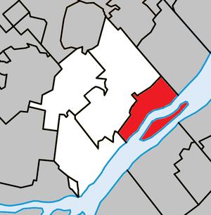 Saint-Sulpice, Quebec - Image: Saint Sulpice Quebec location diagram