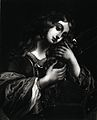 Saint Catherine. Reproduction of mezzotint. Wellcome V0031804.jpg