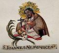 Saint John of Nepomucen. Gouache painting. Wellcome V0032431.jpg