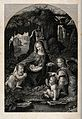 Saint Mary (the Blessed Virgin) with the Christ Child, Saint Wellcome V0033951.jpg