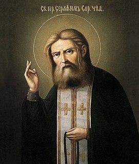 Seraphim of Sarov Russian saint
