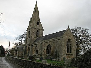 Aunsby and Dembleby - Aunsby: the church of St. Thomas