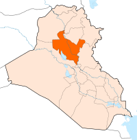 Location of Província de Salah-ad-Din