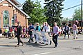 Saline City Council Members in the 2014 Memorial Day Parade.JPG