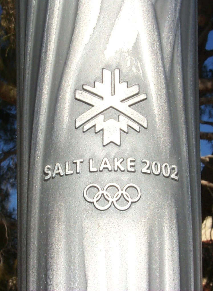 Salt Lake 2002 torch cu