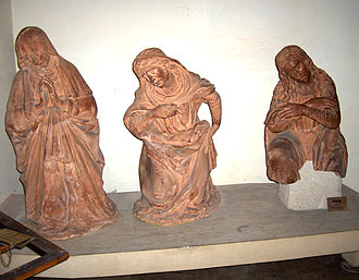 Baccio da Montelupo - Compianto in terracotta, Basilica of San Domenico, Bologna