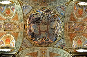 Roman Catholic Diocese of Mondovì - Ceiling in Mondovì Cathedral