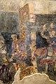 San lorenzo in insula, cripta di epifanio, affreschi di scuola benedettina, 824-842 ca., martirio di santo stefano 02.jpg