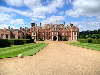 Sandringham House - The East frontage