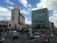 Sannomiya Station and M-INT Kobe Building.JPG