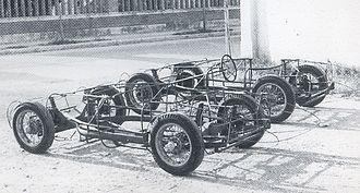 Bandini 750 sport internazionale - Two frames of Saponetta.