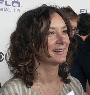 Sara Gilbert - Gilbert at Comedies Premiere Party Area in Los Angeles, California on September 17, 2008