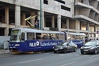 Sarajevo Tram-504 Line-3 2011-10-31 (2).jpg