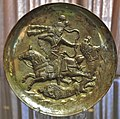Sasanid Plate, Azerbaijan Museum, Tabriz, Iran.jpg
