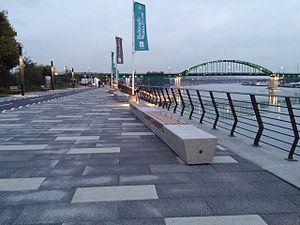 Savamala - Savamala and new Sava Promenade