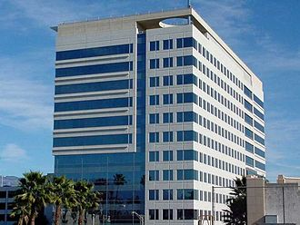 California Department of Transportation - Caltrans District 8 Headquarters in San Bernardino