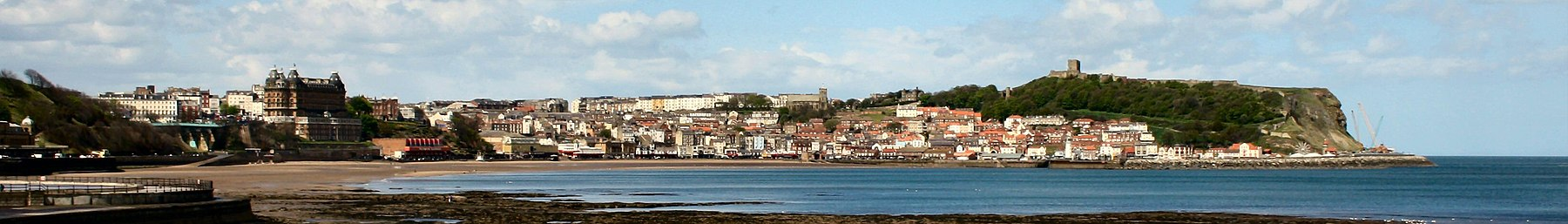 The view across Scarborough's South Bay