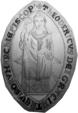Theoderich von Wied - Seal of Archbishop Theoderich of Trier