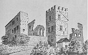 Schloss Brandis 1880