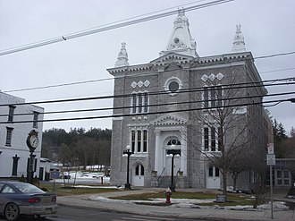 Schoharie County, New York - Image: Schoharie County Courthouse Feb 09
