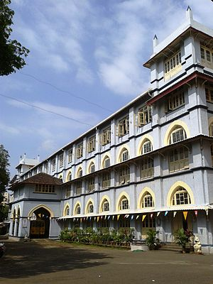 St. Agnes High School, Mumbai - The middle school building