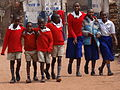 Schoolchildren Emerge from Classes - Kabale - Southwestern Rwanda.jpg