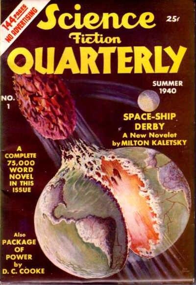 Science Fiction Quarterly Summer 1940