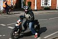 Scooter. Chobham Village Surrey UK.jpg