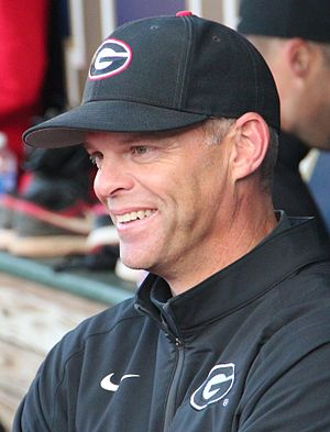 Scott Stricklin (baseball) - Stricklin in 2014