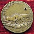 Scuola romana, medaglia di paolo III e securitas temporum, 1538, verso con tre cavalli liberi.JPG