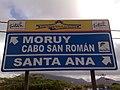 Señal de tráfico en Santa Ana de Paraguaná.JPG
