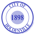 Seal of Holdenville, Oklahoma.png