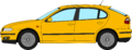Seat Leon profile drawing.png