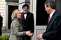 Secretary Clinton Is Greeted By Ambassador Gutman and Belgian Prime Minister Di Rupo (7090505299).jpg
