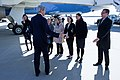 Secretary Kerry Says Goodbye to State Department Employees Who Came to See Him Off En Route to Egypt, Switzerland.jpg